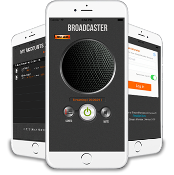 Hardware broadcasting client Icecast and Shout cast